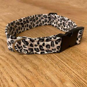 Waggle Mail Collar & Bandana - Leopard Print
