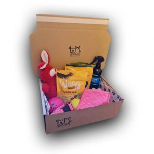 Small Dog Subscription Box Waggle Mail